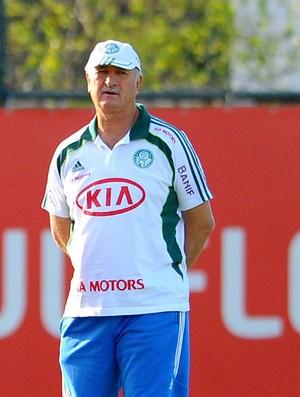 Scolari Felipão Murtoza treino Palmeiras (Foto: Marcos Ribolli / Globoesporte.com)