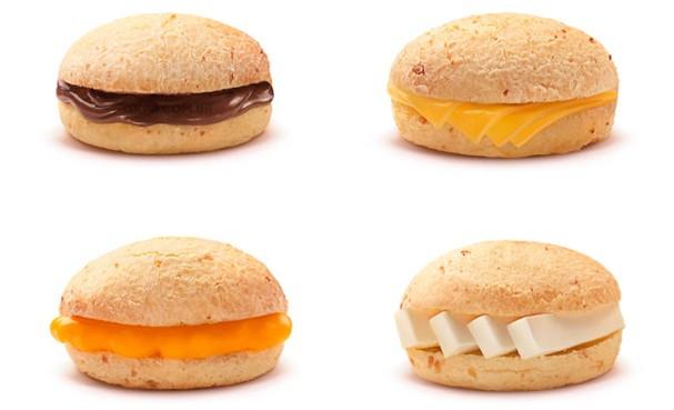 E vai ter pão de queijo recheado também! (Foto: Divulgação)