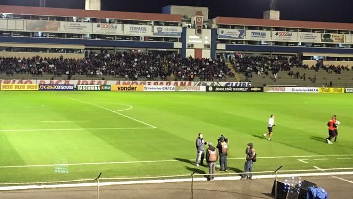 Paraná Atlético-GO Vila Capanema (Foto: Thiago Ribeiro)