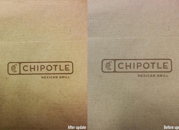 Reprodução de cores está mais fiel após a atualização na foto à esquerda (Foto: Reprodução: The Verge) (Foto: Reprodução de cores está mais fiel após a atualização na foto à esquerda (Foto: Reprodução: The Verge))