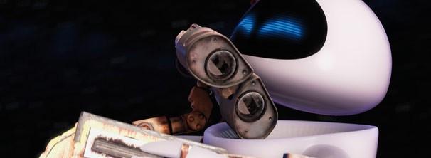 Wall-E se apaixona por Eve após passar anos sozinho (Foto: Divulgação / Disney)