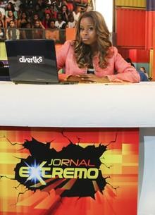 Roberta Rodrigues vira apresentadora (Globo/Paulo Belote)