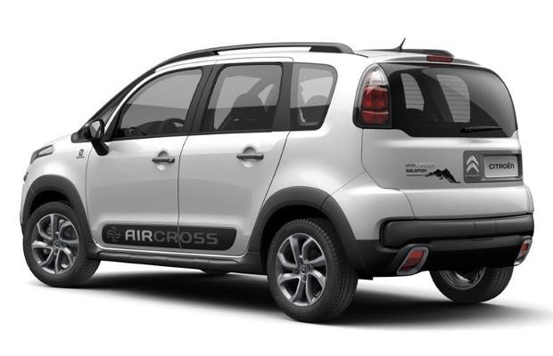 Citroën Aircross Salomon (Foto: Divulgação)