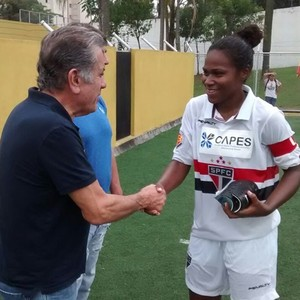Aidar feminino São Paulo (Foto: Site Oficial / saopaulofc.net)