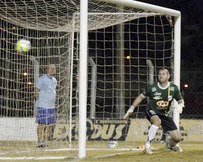 Independente x Novorizontino, final da Série A3, goleiro Marcelo Bonan, do Independente (Foto: Wiliam Lima / Novorizontino)
