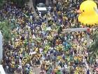 Manifestantes fazem atos contra o governo no noroeste paulista