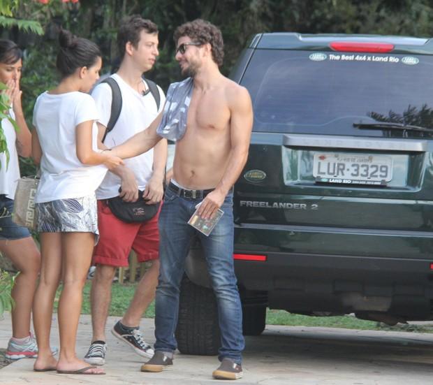 Mariana Rios e Daniel de Oliveira em Belém, no Pará (Foto: Wesley Costa/ Ag. News)