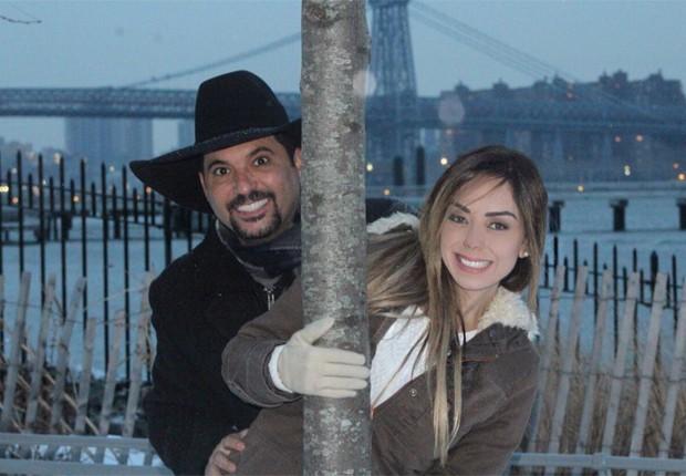 Edson e Deia Cypri (Foto: Divulgação)
