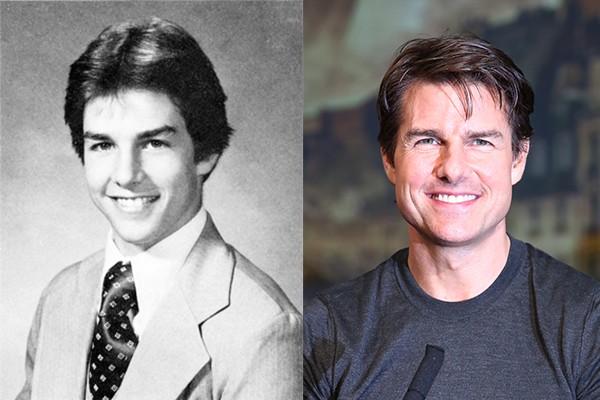 Tom Cruise, famoso pelos filmes 'Missão Impossível', mudou e amadureceu, mas uma coisa sempre vai ser igual: o sucesso que tem com suas fãs  (Foto: Reprodução e Getty Images)