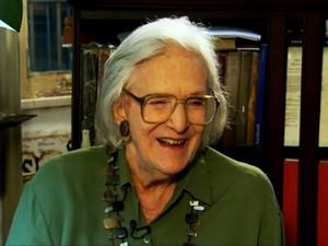 Barbara Heliodora em entrevista ao programa Starte da Globonews, em 2013 (Foto: Reprodução/Globonews)