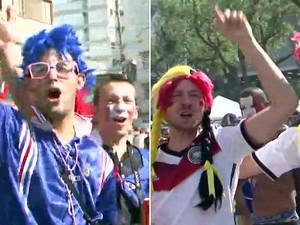 GNews - França x Alemanha (Foto: globonews)