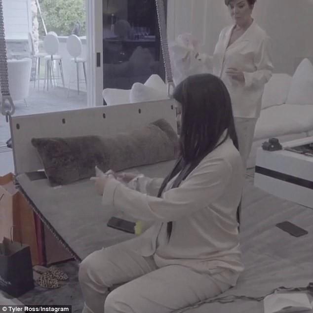O chá de bebê de Kylie Jenner