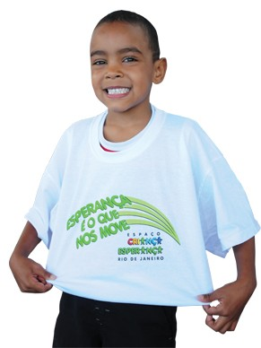 Mais de 10 mil crianças, adolescentes e jovens foram beneficiados nos Espaços Criança Esperança em 2011 (Foto: Divulgação)