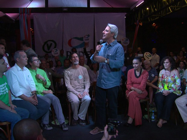 Molon falou de suas propostas para a Prefeitura do Rio no último domingo (Foto: Reprodução/ TV Globo)