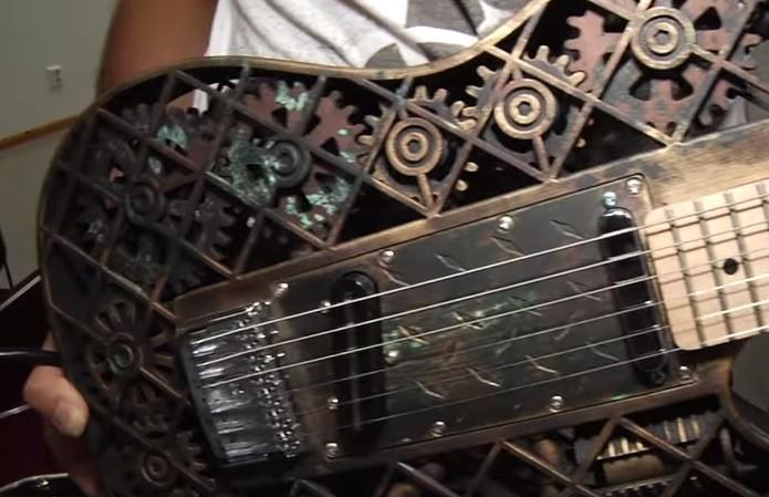 Detalhes em cada guitarra podem variar (Foto: Divulgação)