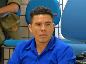 Francisco Ericleiton Santos Sousa e responde pelo crime de homicídio qualificadov (Foto: Reprodução/TV Tapajós)