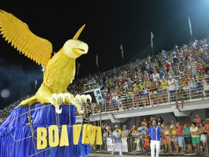 Águia da Boa Vista (Foto: Mariana Carvalho/G1)
