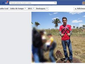 Yego Cunha Leal foi encontrado morto no Tocantins nesta quarta-feira (28) (Foto: Reprodução/Facebook)