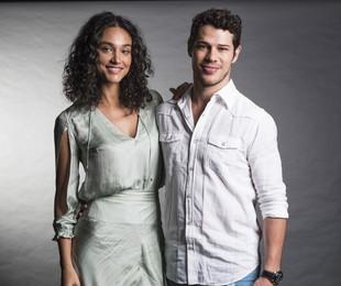 Débora Nascimento e José Loreto | Cesar Alves/ TV Globo