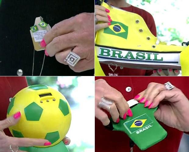 Ana Maria dá dicas para o torcedor! (Foto: Mais Você / TV Globo)