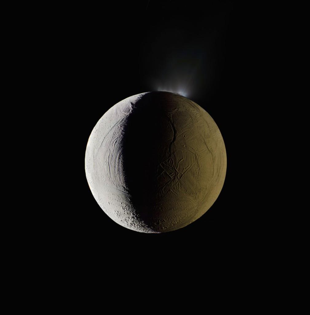Encélado (Foto: NASA/Michael Benson)
