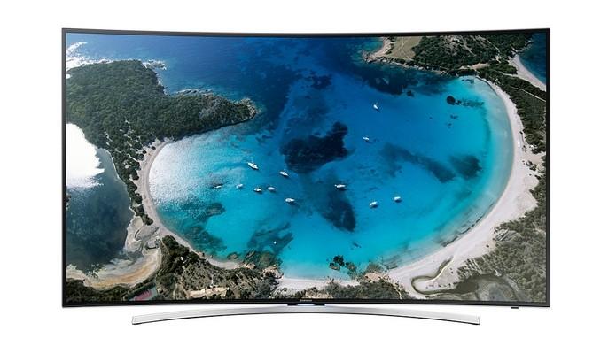 Smart TV Full HD LED Tela Curva 48 3D (Foto: Reprodução/Samsung)