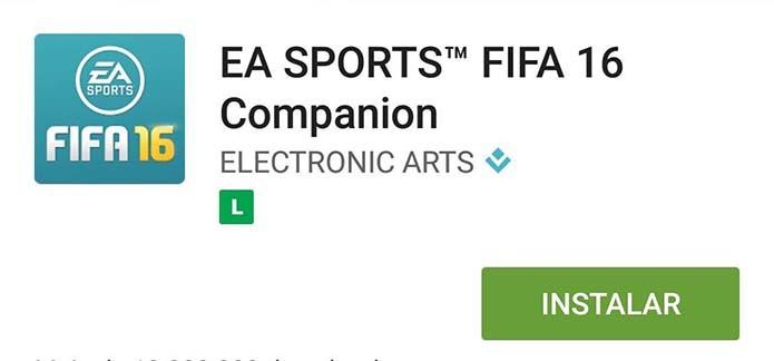 Instale o Companion App do Fifa 16 (Foto: Reprodução/Murilo Molina)