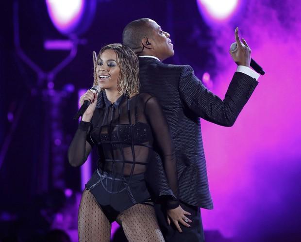 [Grammy] Beyoncé e Jay Z (Foto: Reuters / Agência)