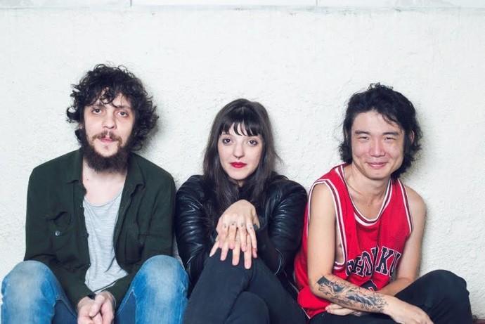 O power trio Ventre é parte da renovação do rock nacional e carioca (Foto: Divulgação)