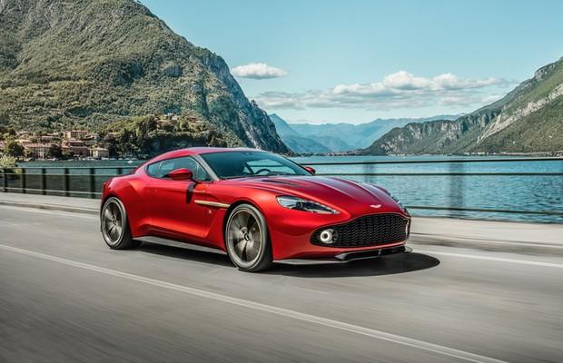Aston Martin Vanquish Zagato Coupé (Foto: Divulgação)