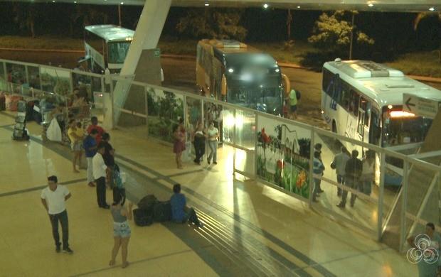 Inaugurada em agosto de 2012, a rodoviária oferece viagens para outros municípios, estados e cidades do Peru (Foto: Bom Dia Amazônia)