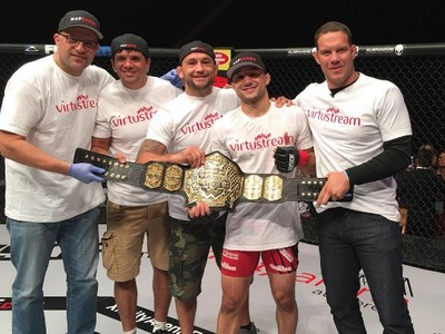 Marlon Moraes, Frankie Edgar, Ricardo Almeida, WSOF, MMA (Foto: Reprodução/Twitter)