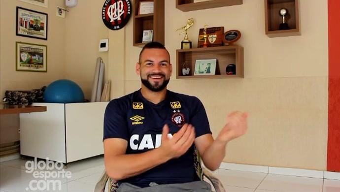 Weverton (Foto: Reprodução/GloboEsporte.com)