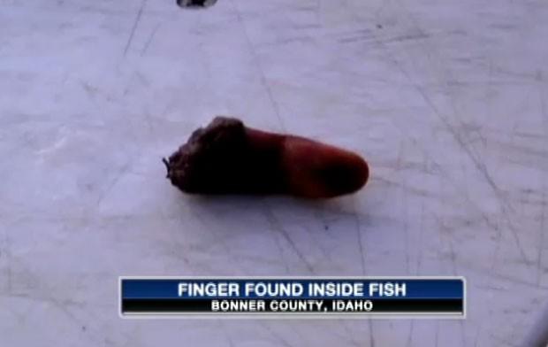Polícia ainda conseguiu tirar a digital do dedo e rastrear 'dono'. (Foto: Reprodução)