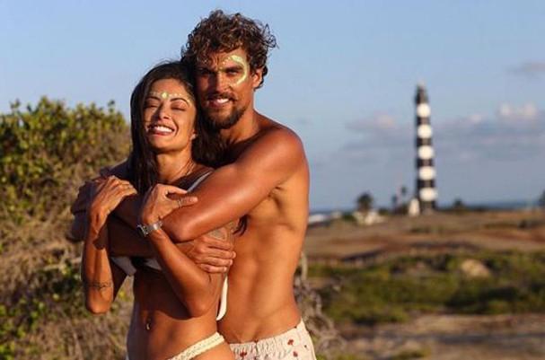 Aline Riscado e Felipe Roque (Foto: Reprodução Instagram)