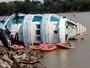 Barco do TRE afunda na Zona Rural de Macapá (Divulgação/TRE-AP)