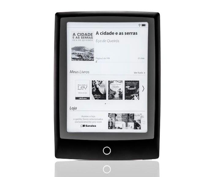 Lev, novo e-reader da Saraiva (Foto: Divulgação)