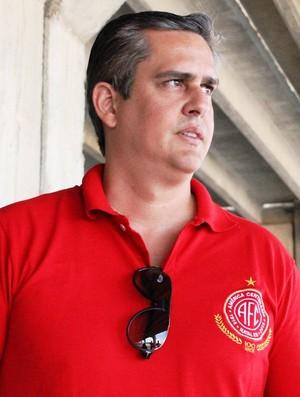 Beto Santos - candidato à presidência do América-RN (Foto: Canindé Pereira/Divulgação)