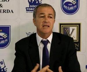 Presidente do Rio Claro, Luis Balbo (Foto: Assessoria RCFC)