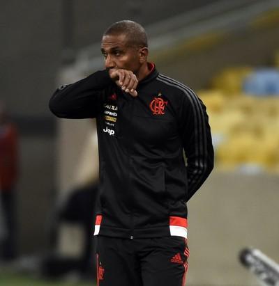 Cristóvão Borges Flamengo x Figueirense Maracanã (Foto: André Durão)