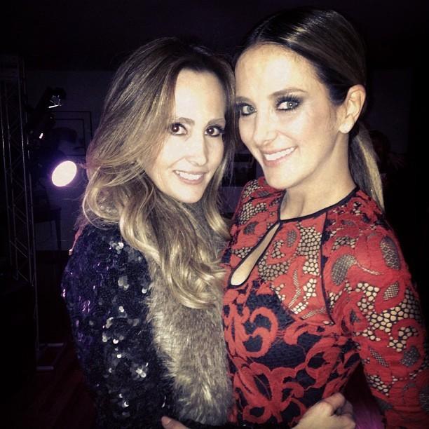 Melissa Wilman e Ticiane Pinheiro em festa em São Paulo (Foto: Instagram/ Reprodução)