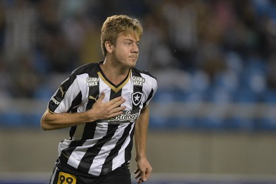 Luis Henrique Botafogo x Sampaio Correa (Foto: Estadão Conteúdo)