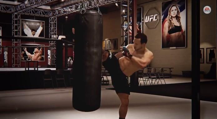 EA Sports UFC terá modo baseado no reality show TUF (Foto: Reprodução / YouTube)