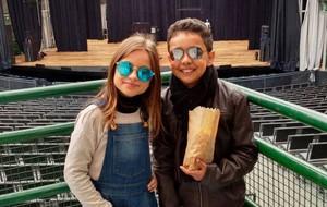 Rafa Gomes e Iogor Silveira se divertiram na Ópera de Arame em Curitiba (Foto: Arquivo pessoal)