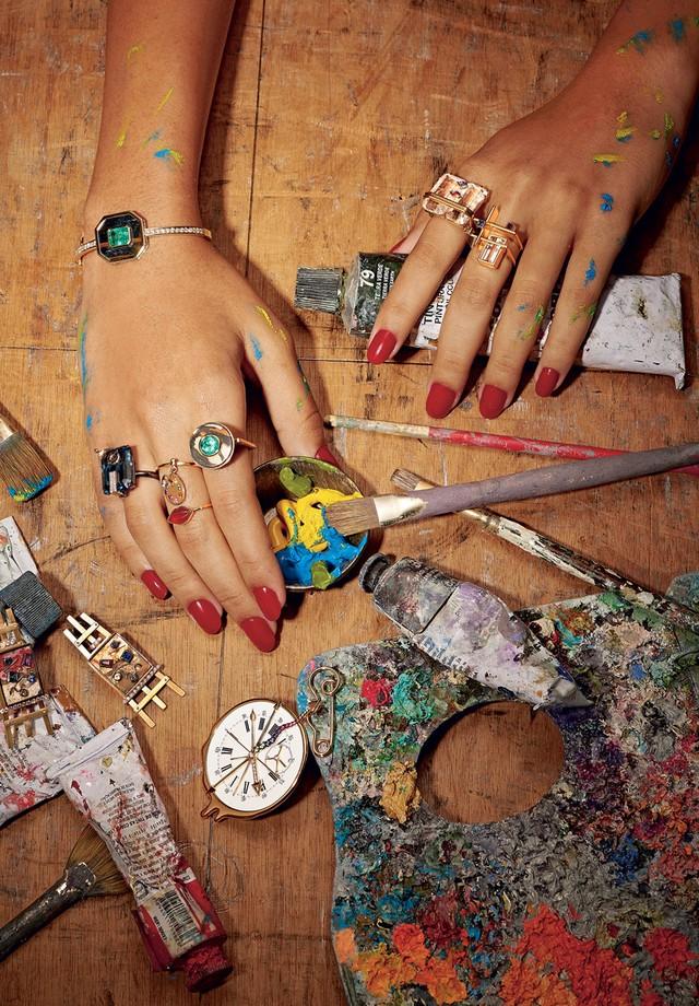 Conheça os detalhes da coleção Untitled da Amsterdam Sauer na matéria assinada por Bruno Astuto na Vogue Brasiil de abril (Foto: Xico Bunny)
