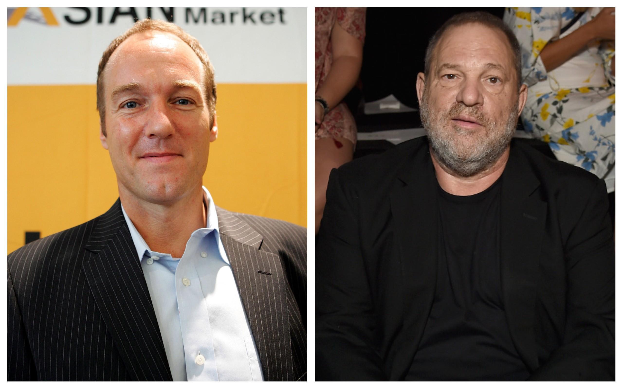Bey Logan e Harvey Weinstein (Foto: Getty Images)