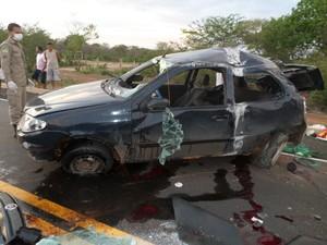 Vítima seguia para o velório da mãe em Fortaleza (Foto: Polícia Civil)