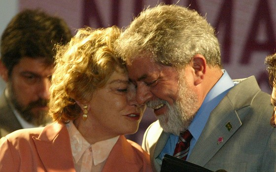 Lula e dona Marisa participam da abertura da Primeira Conferência Nacional de Politicas para as Mulheres, (Foto:  Roberto Stuckert Filho/Agência O Globo)