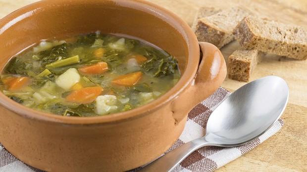 Sopa de legumes para dieta detox (Foto: Getty Images)