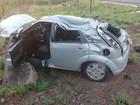 Capotamento provoca uma morte e deixa 4 pessoas feridas na BR-230
